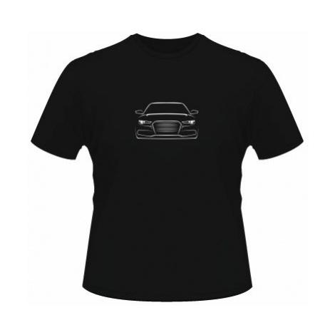 Pánské tričko na tělo Silueta auta