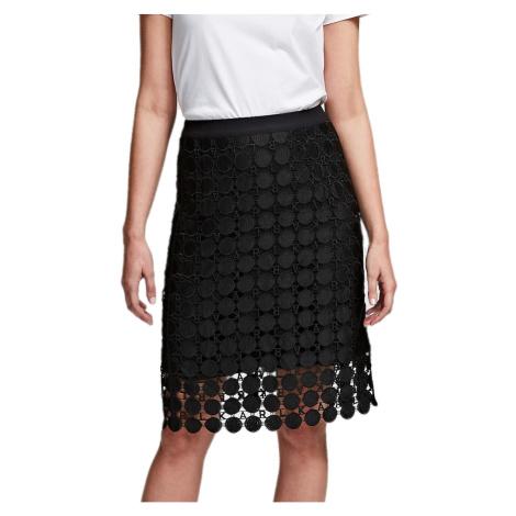 Černá krajková sukně KARL LAGERFELD