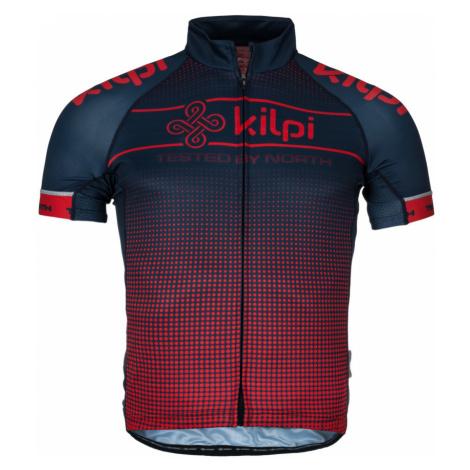 KILPI Pánský cyklistický dres ENTERO-M KM0009KIRED Červená