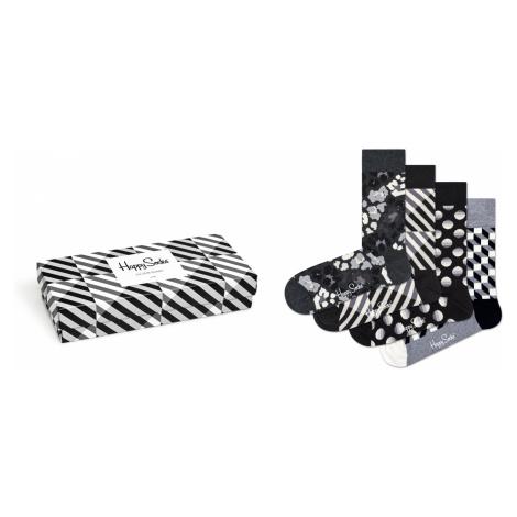Seasonal Black & White Gift Box Happy Socks