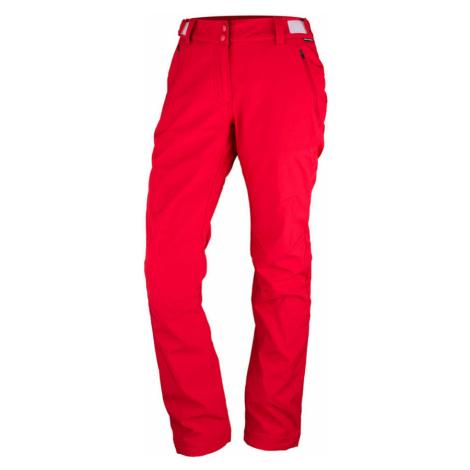 NORTHFINDER MADZER Dámské softshellové kalhoty NO-44351OR360 červená