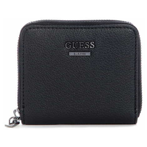 Peněženka Guess Cami Small Zip-Around černá