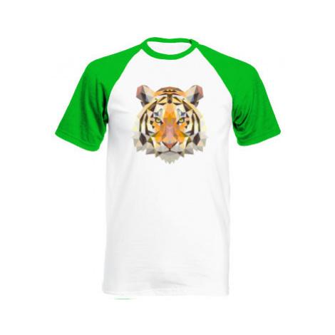 Pánské tričko Baseball Tygr
