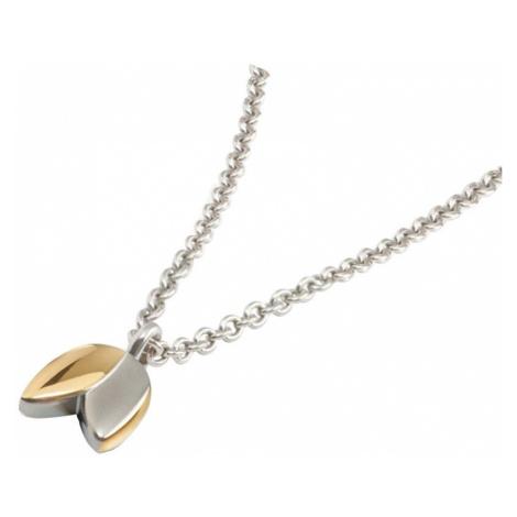 Boccia Titanium Pozlacený titanový náhrdelník 08025-02