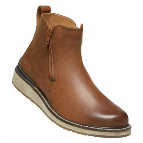 KEEN BAILEY ANKLE ZIP W Dámská městská obuv 10008955KEN01 cognac
