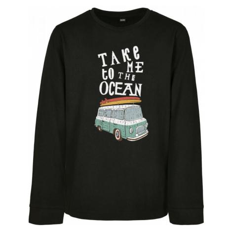 Kids Take Me To The Ocean Longsleeve Urban Classics