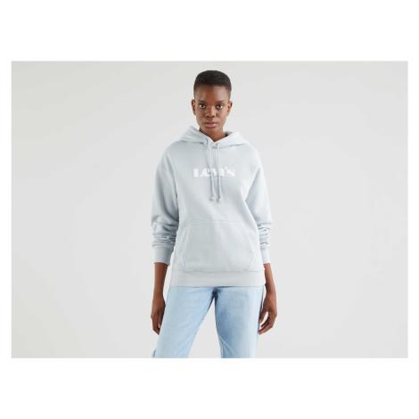 Mikina Levi´s® Graphic Standard dámská světle šedá