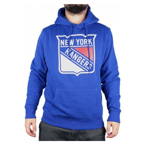 Pánská mikina s kapucí Fanatics Primary Core NHL New York Rangers