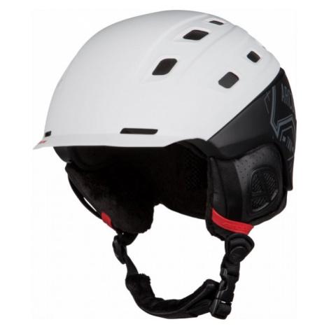 Arcore TWIN bílá - Lyžařská helma