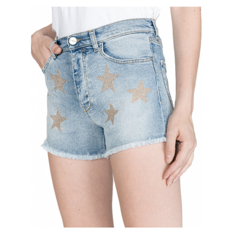Modré džínové šortky - PINKO