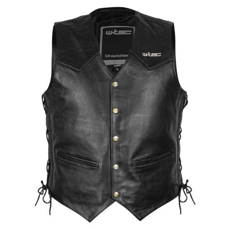 Kožená Moto Vesta W-Tec Rockridge Black