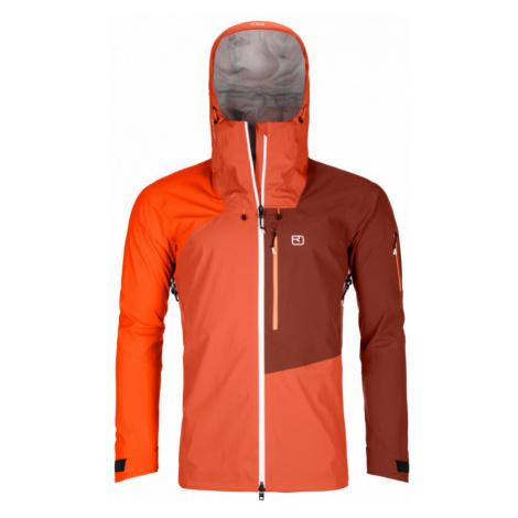 Pánská bunda Ortovox 3L Ortler Jacket M desert orange