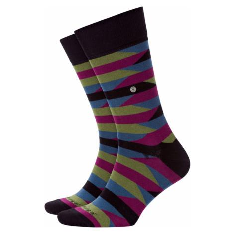 Ponožky Burlington FRAGMENTS zelená|černá