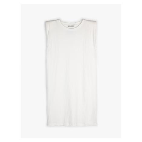 GATE Tričkové šaty s vycpávkami