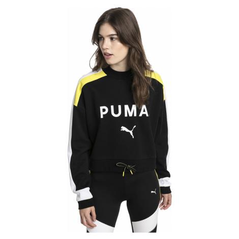 Černá mikina Chase Crew Neck Puma