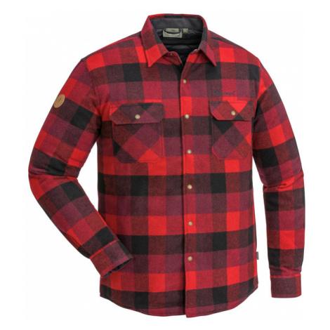 Košile dřevorubecká zateplená PINEWOOD Canada Classic 2.0 Flanelová - ČERVENÁ / ČERNÁ