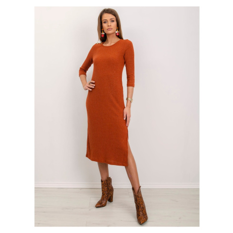 Ribbed copper BSL dress Fashionhunters