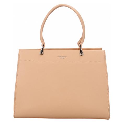 Dámská kabelka do ruky růžově oranžová - David Jones Rézza