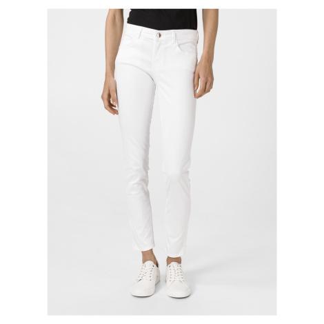 Curve X Jeans Guess Bílá