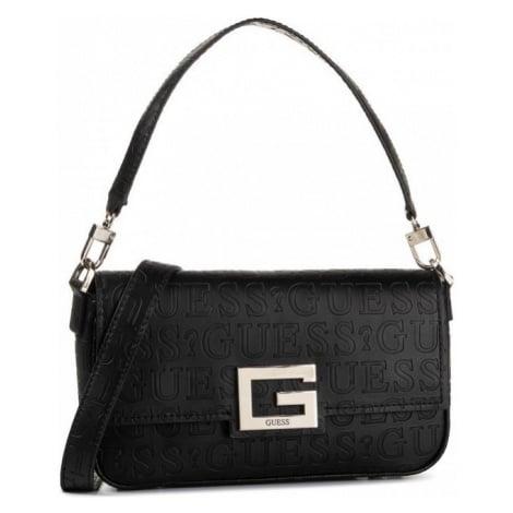 Guess GUESS dámská černá kabelka BRIGHTSIDE SHOULDER BAG