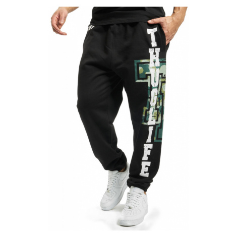 Thug Life / Sweat Pant Under Pressure in black
