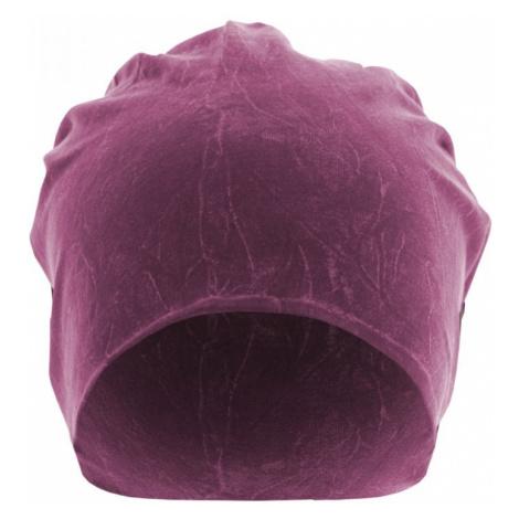 Stonewashed Jersey Beanie - purple Urban Classics
