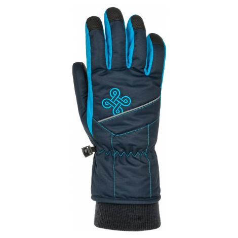 KILPI Dětské lyžařské rukavice KENNY-J NJ0050KIDBL Tmavě modrá
