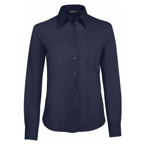SOĽS Dámská košile EXECUTIVE 16060228 Dark blue SOL'S