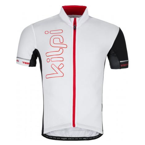 Men's cycling jersey Elyon-m white - Kilpi