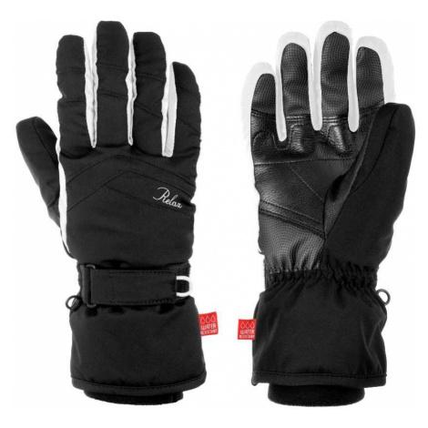 Dámské rukavice Relax HELLA - černo-bílá