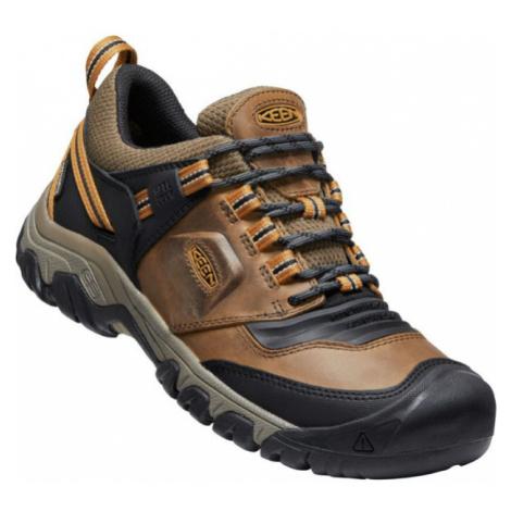 KEEN RIDGE FLEX WP Pánská treková obuv 10016508KEN01 bison/golden brown