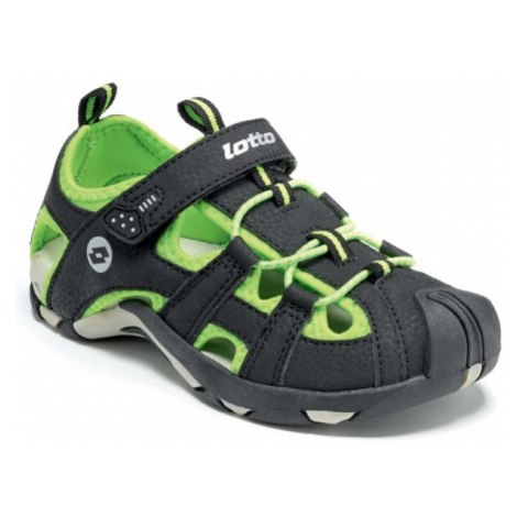Lotto SUMATRA III CL černá - Dětské sandály