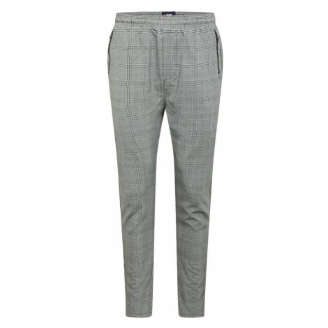 Denim Project Kalhoty šedá / černá
