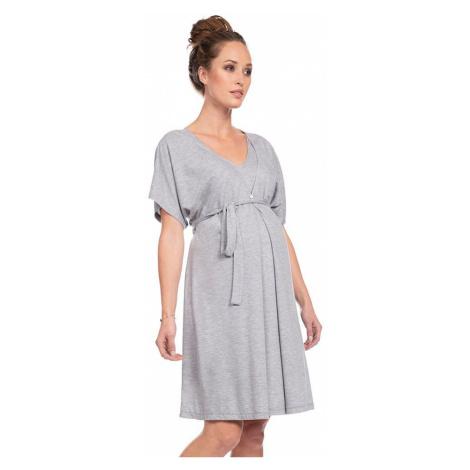 Šedá těhotenská noční košile Jaya