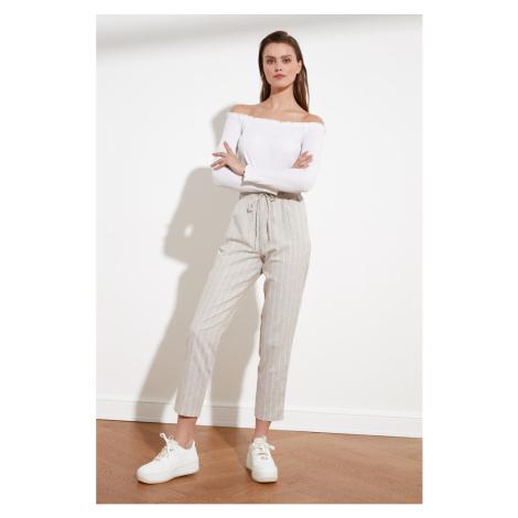Trendyol Stone Striped Pants