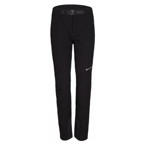 ALPINE PRO ROHANA Dámské softshellové kalhoty LPAP342990 černá