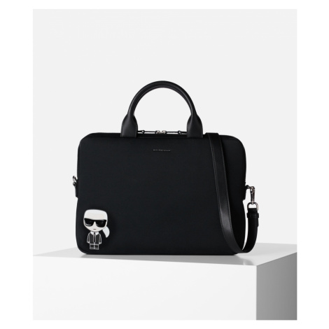 Taška Na Notebook Karl Lagerfeld Ikonik Laptop Sleeve W Strap