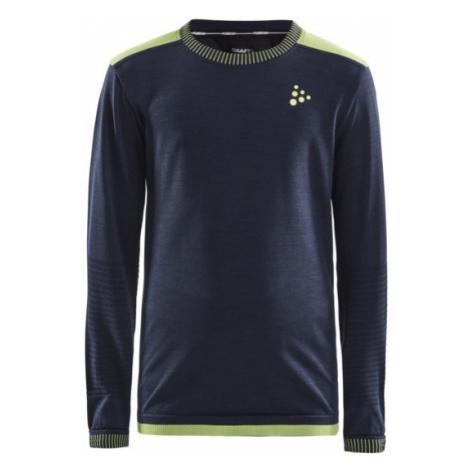 Dětské tričko CRAFT Fuseknit Comfort tmavě modrá
