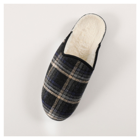 Blancheporte Klasické pantofle šedá