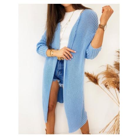 BARTERO women's cardigan blue MY0768 DStreet