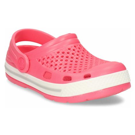 Lososové dětské sandály Coqui