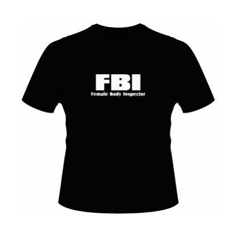 Pánské tričko na tělo FBI