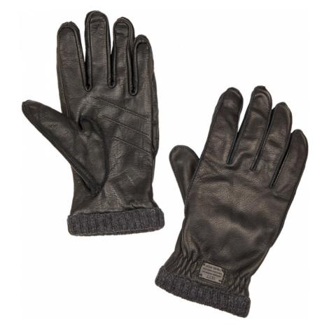 Rukavice Camel Active Handschuh-Leder - Černá