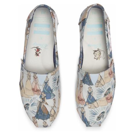 Disney X Toms Blue Cinderella Women's Classics