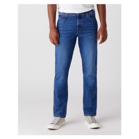 Wrangler jeans Texas Slim Game On pánské modré