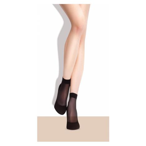 Dámské ponožky Fiore Maja C 1100 15 den A'2 light natural/odstín béžové univerzální