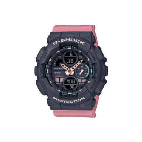 Casio G-Shock GMA S140-4AER černé / růžové