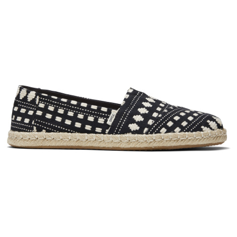 BLK GLOBAL WOVEN WM ALROPE ESP Toms