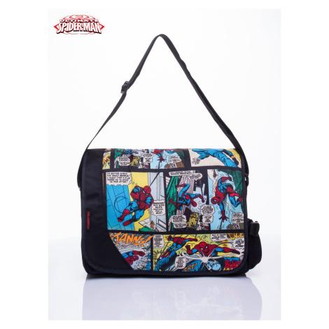 Černá školní taška s motivem Spidermana FPrice