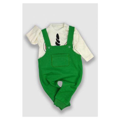 TrendUpcz Dětské kalhoty s laclem a tričko Unicorn